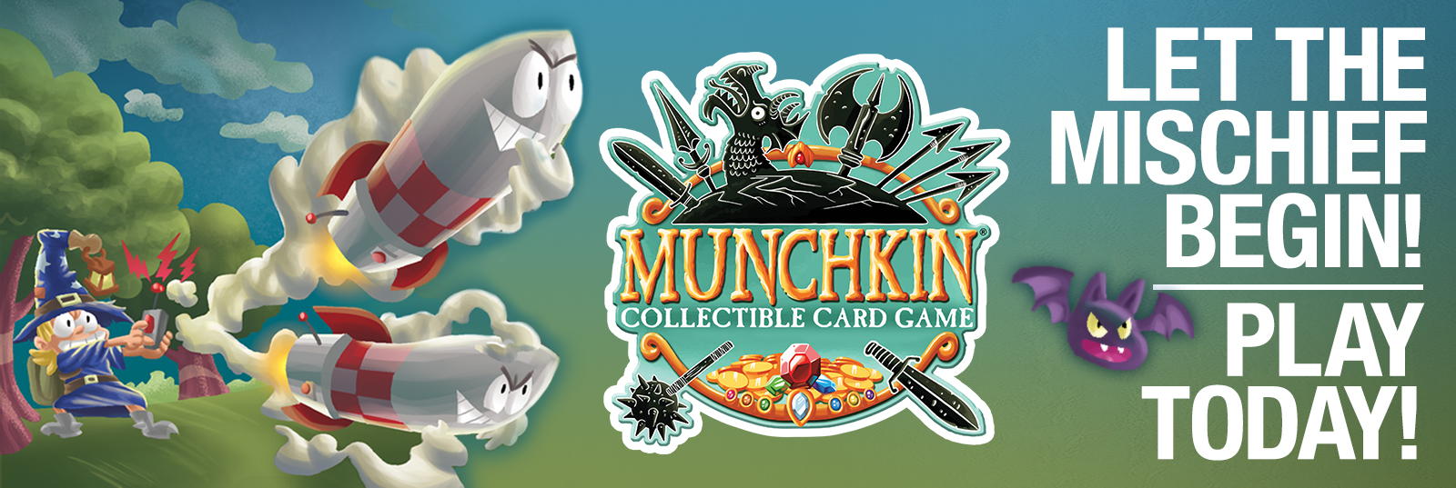 Munchkin CCG Play Today!