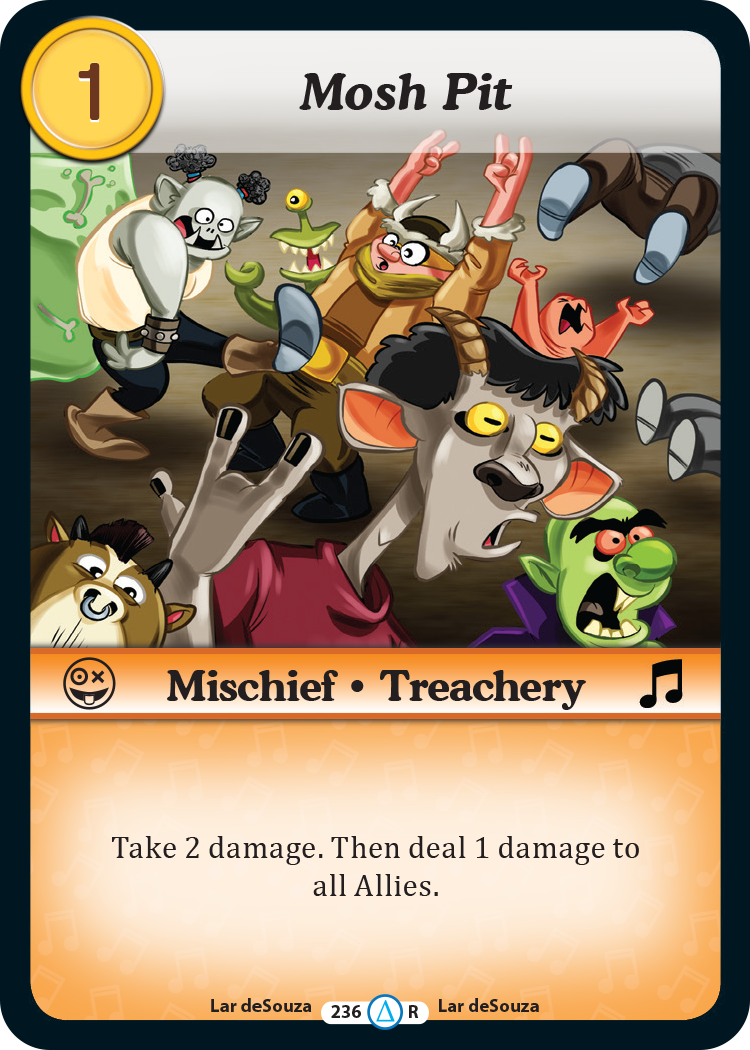 Moshpit Card